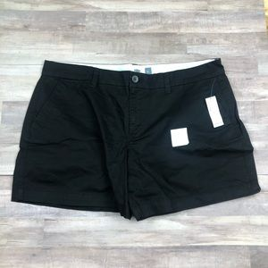 "NWT Old Navy Black Shorts 5"" Length"